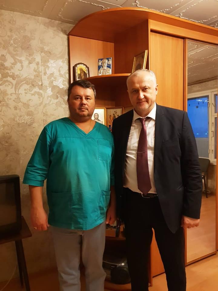 Сергей Светлов и Юрий Ганус